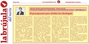 Presupuesto 2020 Ciudadanos San Sebastián de los Reyes Martín Perdiguero