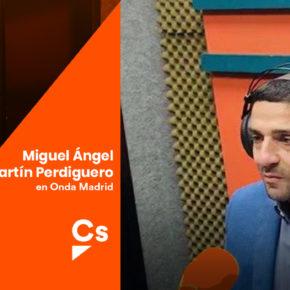 """Entrevista en """"Buenos Días Madrid"""" en Onda Madrid"""