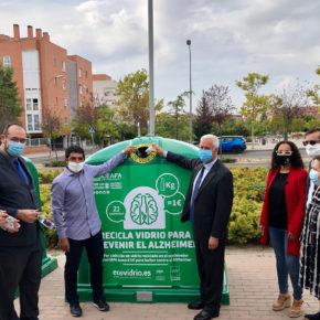 San Sebastián de los Reyes y Alcobendas se unen a la campaña solidaria de Ecovidrio para luchar contra el Alzheimer