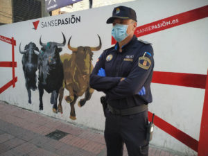 Fiestas San Sebastián de los Reyes Policía Local Seguridad