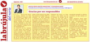 seguridad fiestas san sebastian de los reyes vicealclade Miguel Ángel Martín Perdiguero