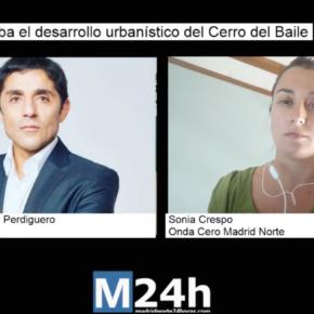"""Martín Perdiguero: """"Los partidos políticos no tendrán viviendas en Cerro del Baile"""""""