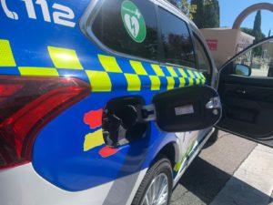 Policía Local San Sebastián de los Reyes coches Martin Perdiguero Vicealcalde