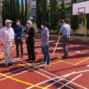 El Ayuntamiento de San Sebastián de los Reyes culmina las obras de reforma y mantenimiento veraniegas en los centros educativos públicos