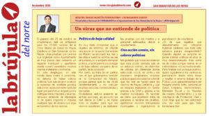 Vicealcalde Martín Perdiguero test san sebastian de los reyes Brujula