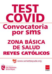 Pancarta que se difundió por la Zona Básica de Salud Reyes Católicos San Sebastián de los Reyes