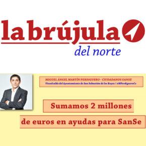 Sumamos 2 millones de euros en ayudas para SanSe