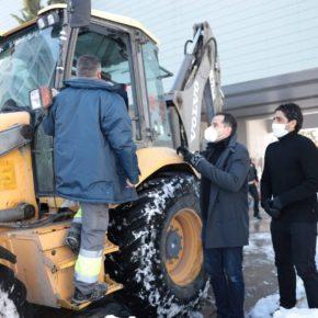 Ciudadanos SanSe solicita la declaración del municipio como 'zona afectada gravemente' ante los graves daños ocasionados por la borrasca Filomena