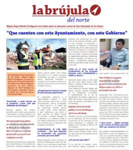 Entrevista Miguel Ángel Martín Perdiguero La Brújula