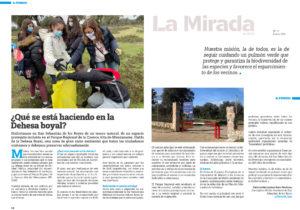 Artículo en Mirada Norte de Patricia Hernández medio Ambiente San Sebastián de los Reyes