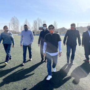 """""""Vivimos un momento único en el impulso de las instalaciones deportivas para San Sebastián de los Reyes"""""""