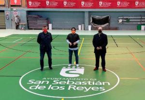 Entrevista Miguel ángel Martín Perdiguero, sobre inversión en Deportes en San Sebastián de los Reyes
