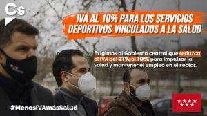 Menos IVA más Deporte en España