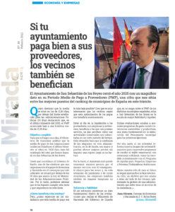 Periodo medio de pago San Sebastián de los Reyes Juan Olivares Ciudadanos