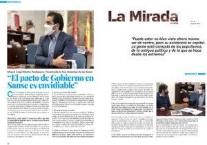 Entrevista a Miguel Ángel Martín Perdiguero vicealcalde San Sebastián de los Reyes La Mirada Norte