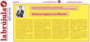 Encierros seguros libertad Miguel Ángel Martín Perdiguero La Brújula