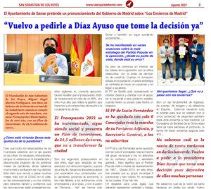 Entrevista vicealcalde Martín Perdiguero San Sebastian de los Reyes Díaz Ayuso